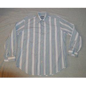 Hickey Freeman Mens Casual Dress Shirt Size Large